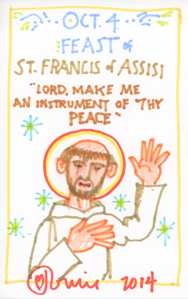St Francis of Assisi 2014