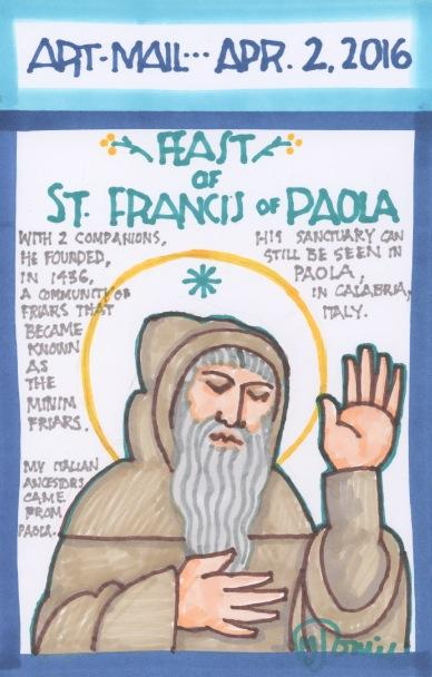 St Francis of Paola 2016