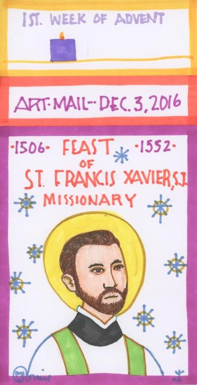 St Francis Xavier 2016