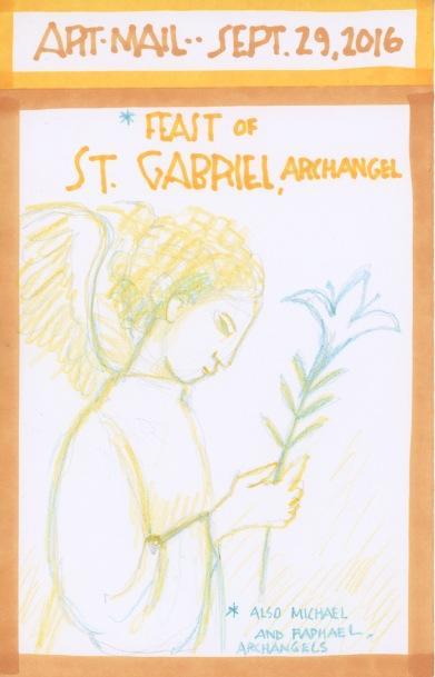 St Gabriel Archangel 2016