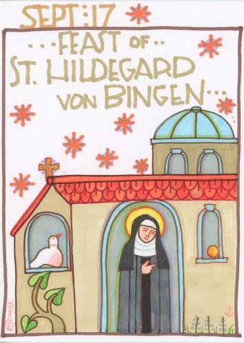 St Hildegard von Bingen 2017