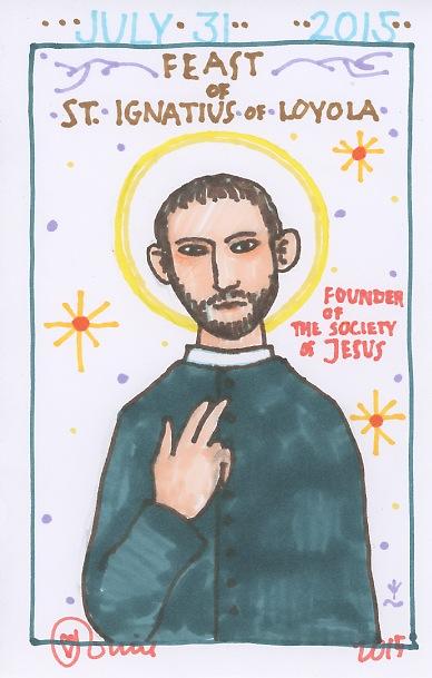 St Ignatius of Loyola 2015