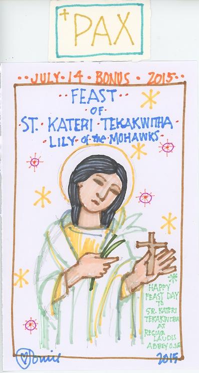 St Kateri Tekakwitha 2015