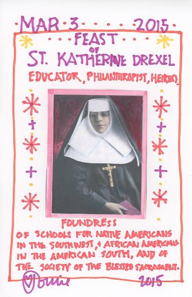 St Katharine Drexel 2015