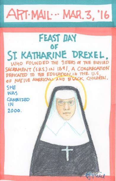 St Katharine Drexel 2016