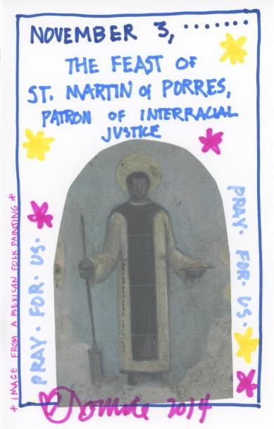 St Martin of Porres 2014