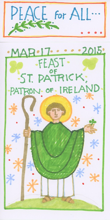 St Patrick 2015