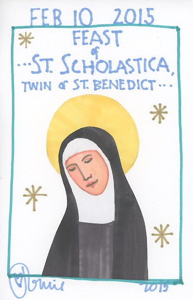 St Scholastica 2015