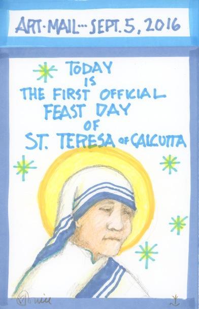 St Teresa of Calcutta 2016