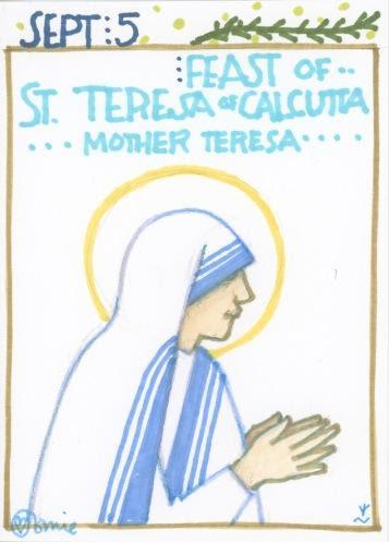 St Teresa of Calcutta 2017