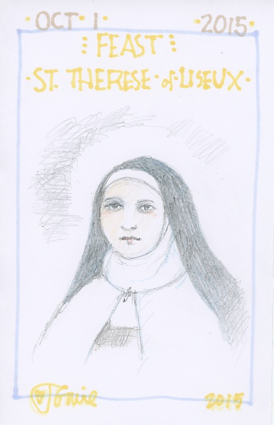 St Therese Lisieux 2015