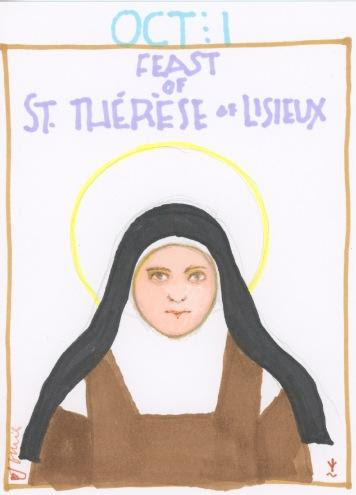 St Therese Lisieux 2017