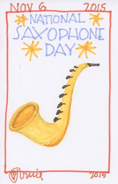 Saxophone 2015