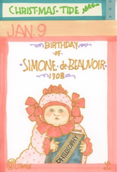 Simone de Beauvoir 2017