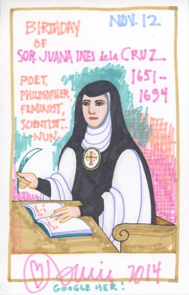 Sister (Sor) Juana Ines de la Cruz 2014