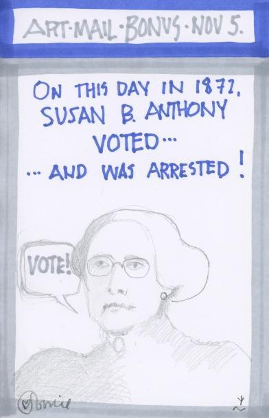 Susan B Anthony 2016