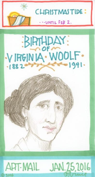Virginia Woolf 2016