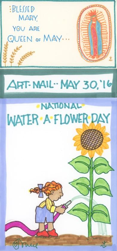 Water a Flower 2016