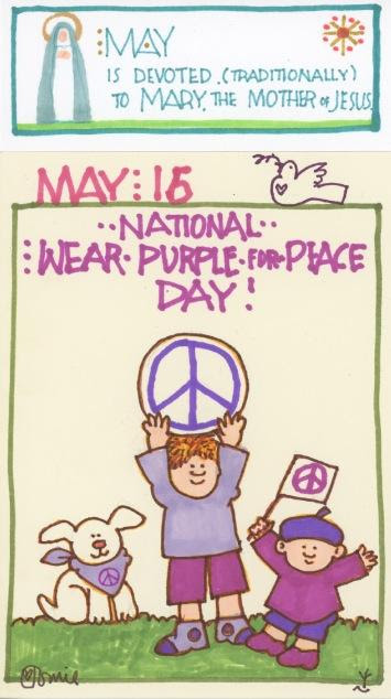 Wear Purple for Peace 2017