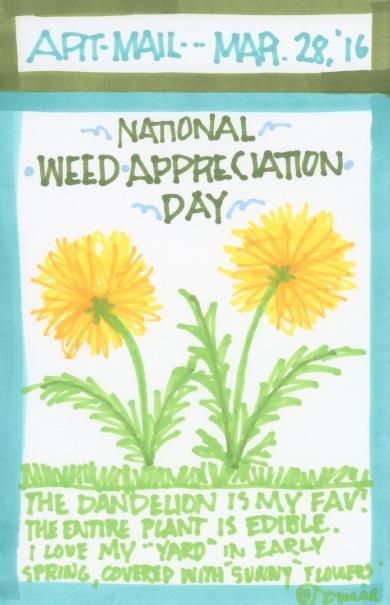Weed Appreciation 2016