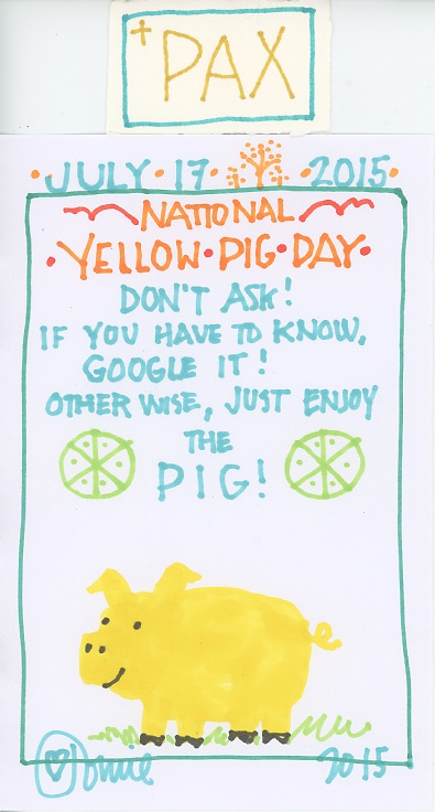 Yellow Pig 2015