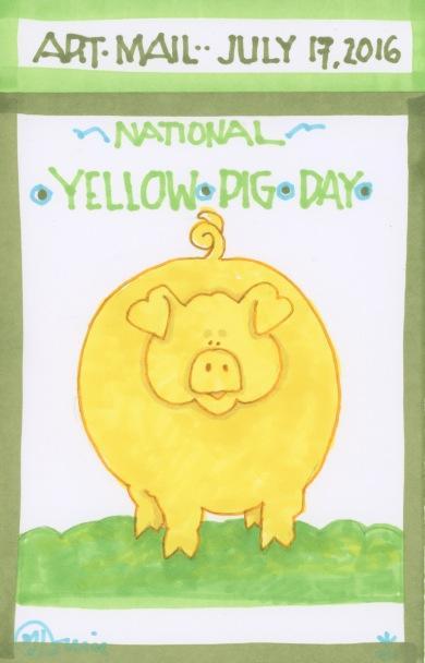 Yellow Pig 2016