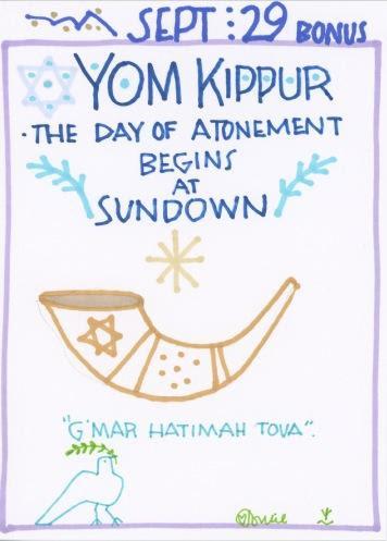 Yom Kippur Begins 2017