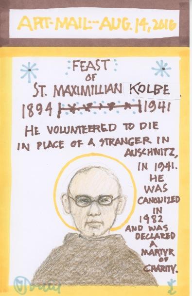 St Maximilian Kolbe 2016