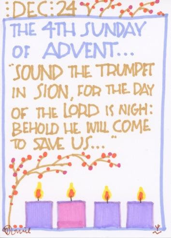 Advent 2017 Fourth Sunday