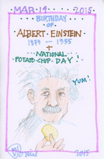 Albert Einstein 2015