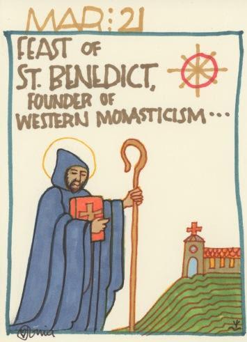 St Benedict 2018