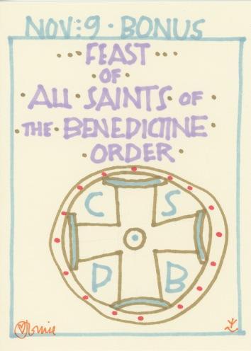 All Saints Benedictine Order 2017