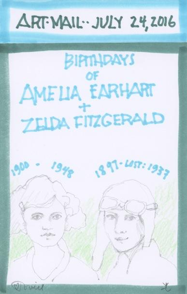 Amelia Earhart 2016