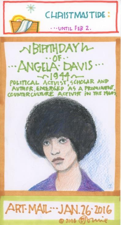 Angela Davis 2016