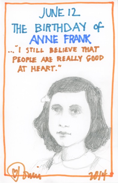 Anne Frank 2014