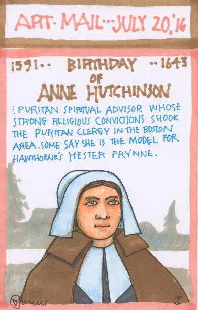 Anne Hutchinson 2016