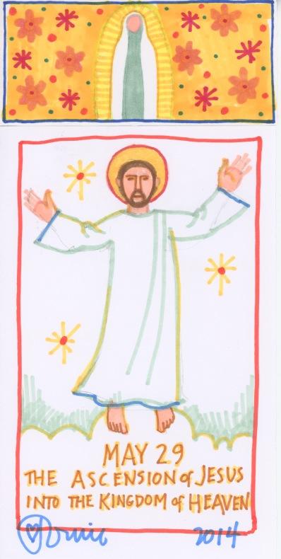 Ascension of Jesus 2014