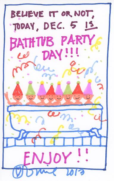 Bathtub Party 2013
