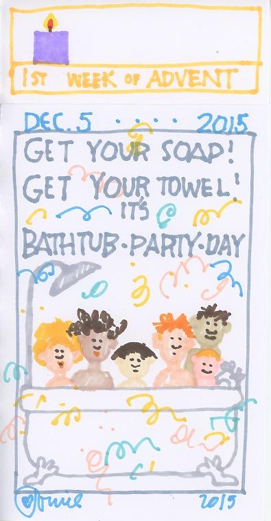 Bathtub Party 2015