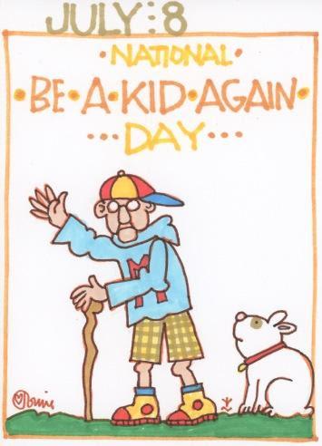 Be a Kid Again 2017