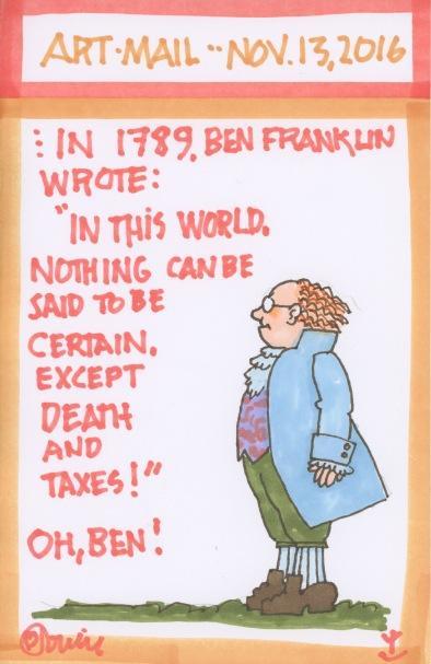 Ben Franklin 2016