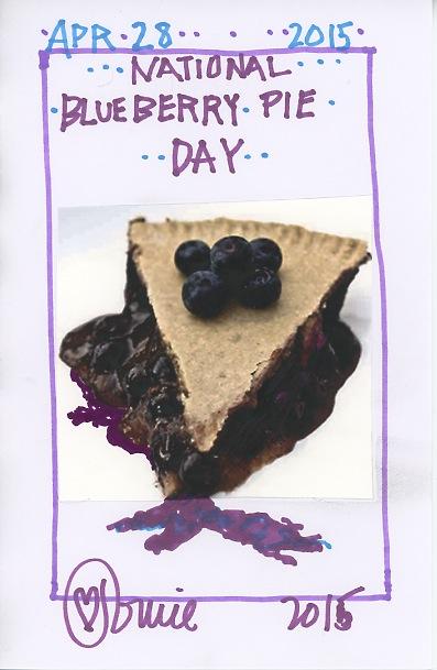 Blueberry Pie 2015