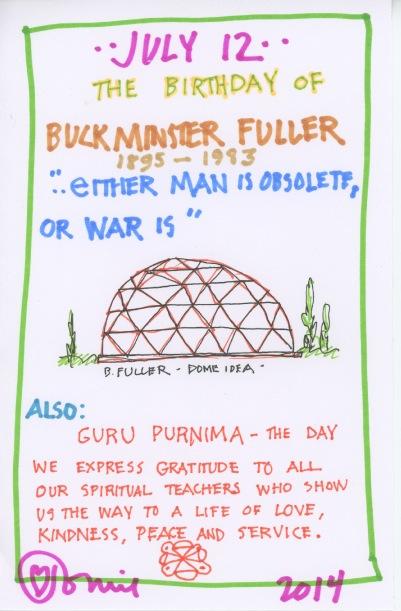 Buckminster Fuller 2014