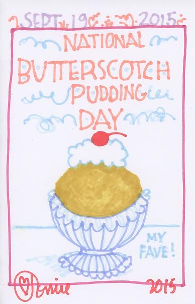 Butterscotch Pudding 2015