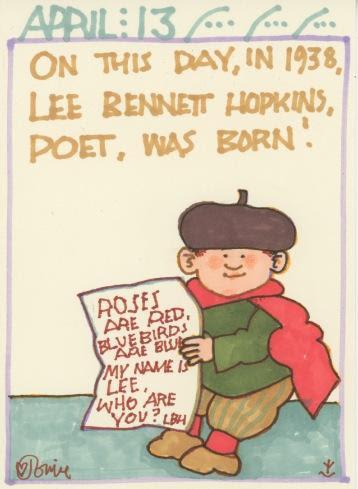 Lee Bennett Hopkins 2018