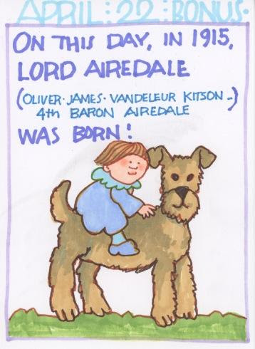 Lord Airedale 2018