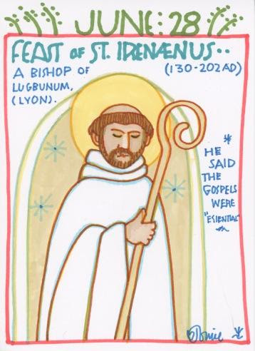 St Irenaeus 2018