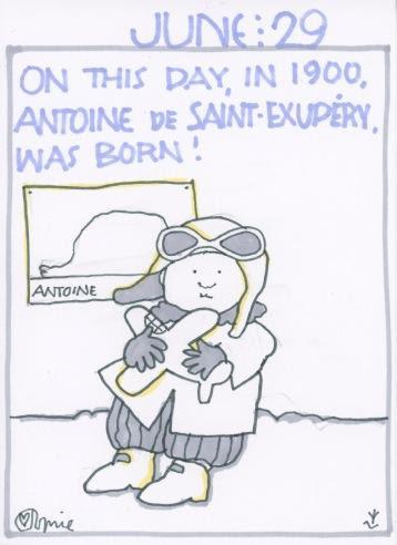 Antoine de Saint-Exupery 2018