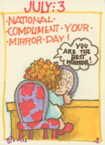 Compliment Your Mirror 2018
