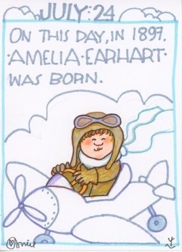 Amelia Earhart 2018